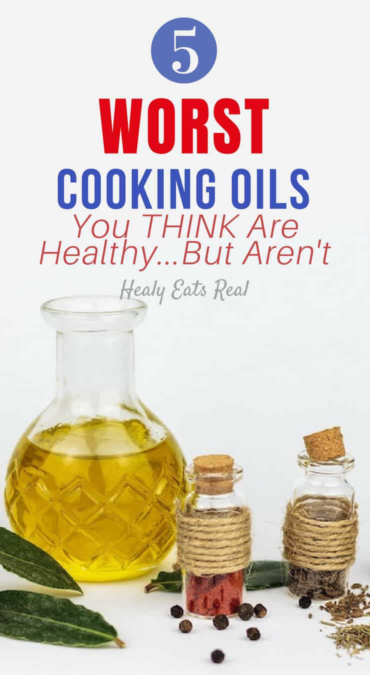 5 Worst Cooking Oils You Think Are Healthy…But Aren\'t