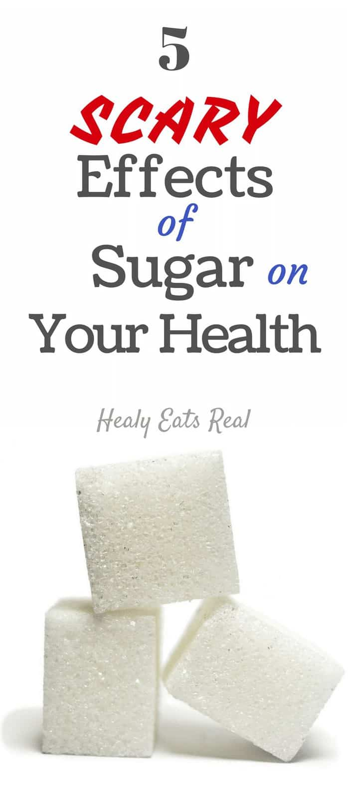 5 Scary Effects of Sugar on Your Health