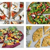 15 Healthy Pizza Crust Recipes Made from Vegetables (Gluten Free & Paleo)