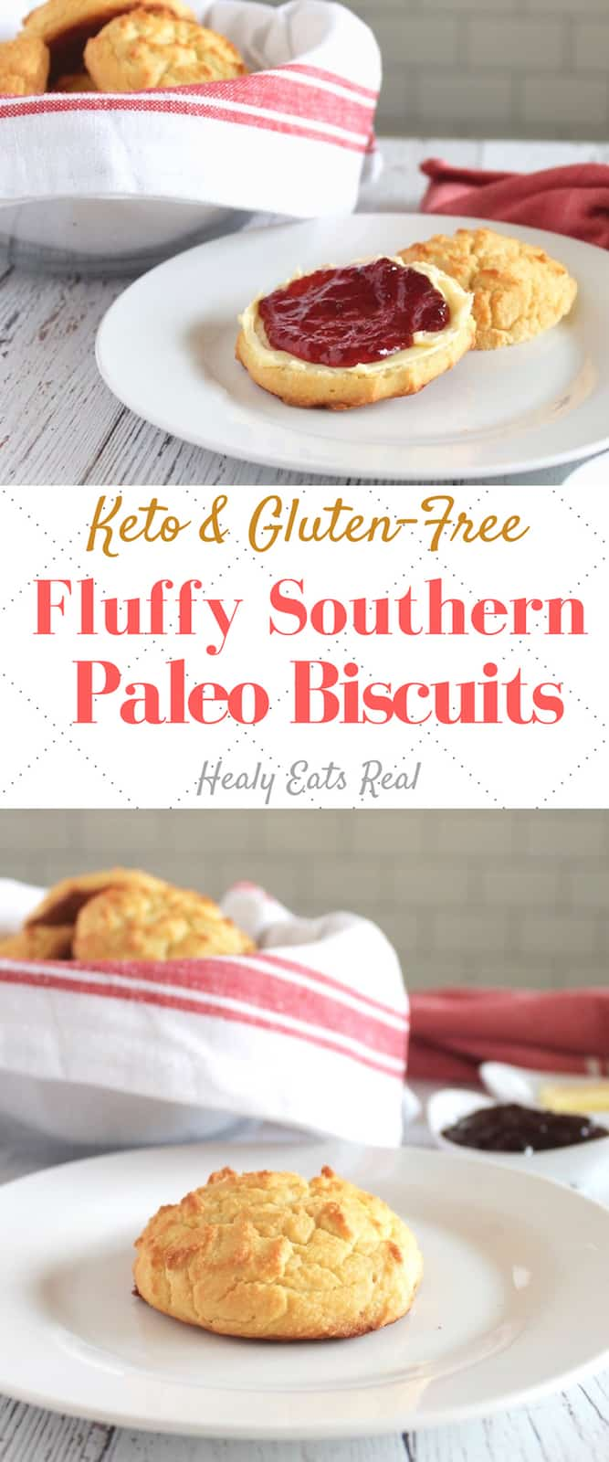 Southern Style Fluffy Paleo Biscuits (Keto & Low Carb)