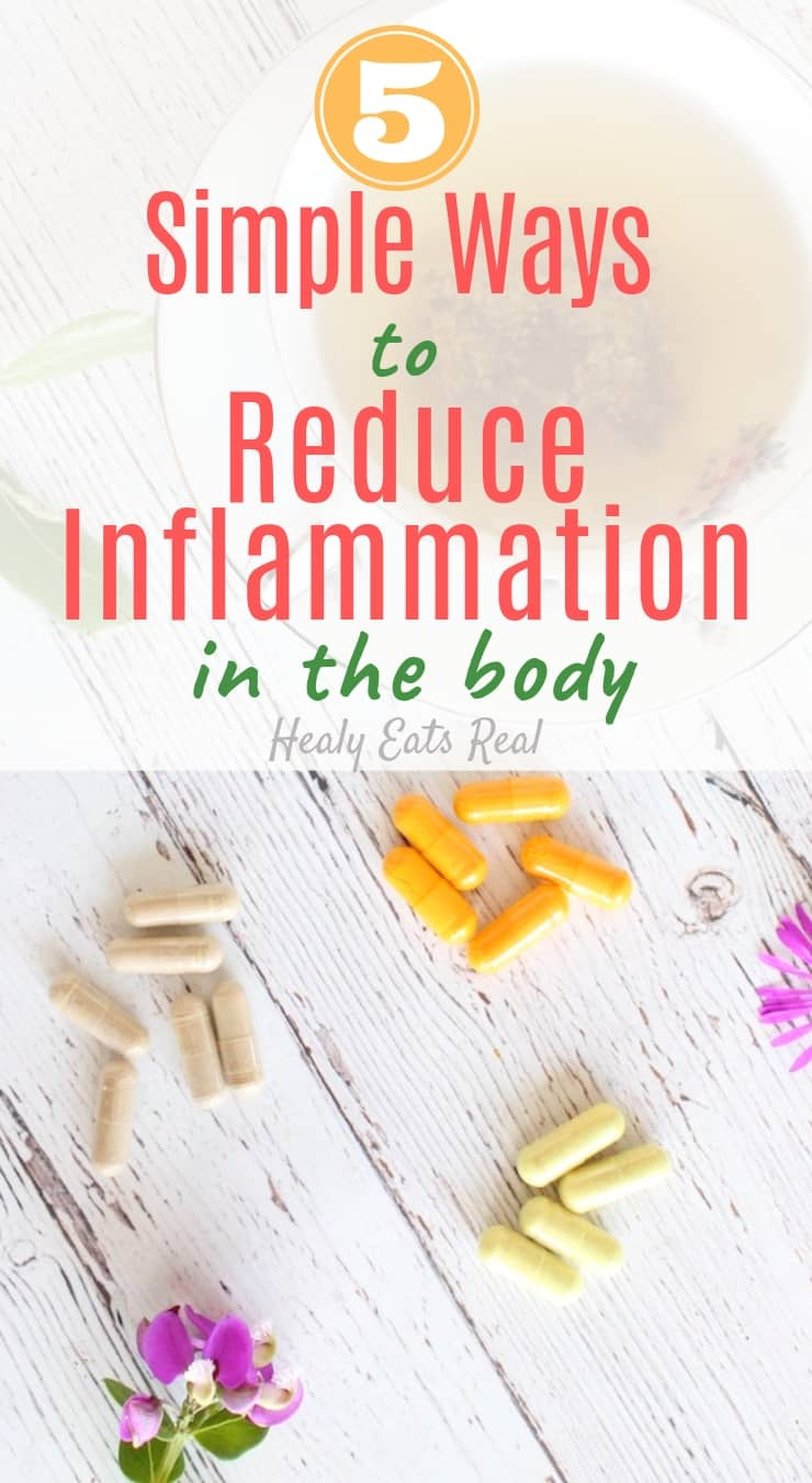 5 Simple Ways to Reduce Inflammation in the Body