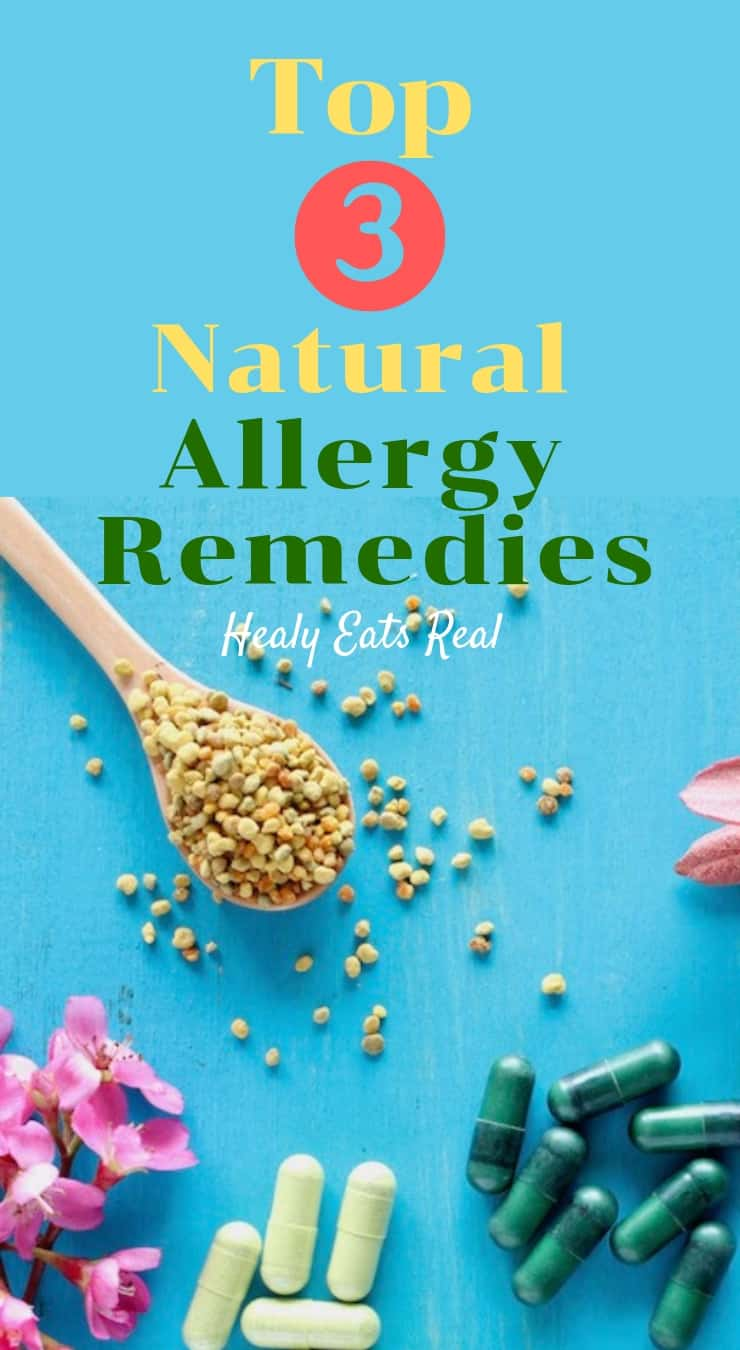 Top 3 Easy Natural Allergy Remedies that Work!